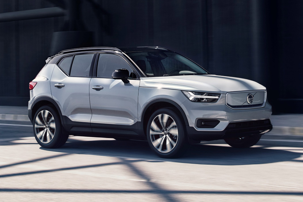 2020 Volvo Xc40 Recharge Suv In 2020 Electric Cars Suv Volvo