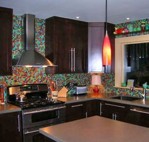 36 colorful and original kitchen backsplash ideas digsdigs from ...