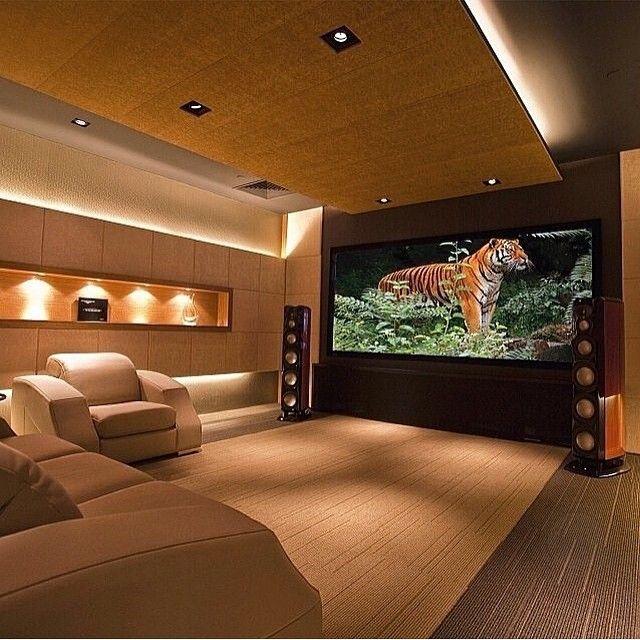 Salas De Cine En Casa: Casas Pintadas Exterior