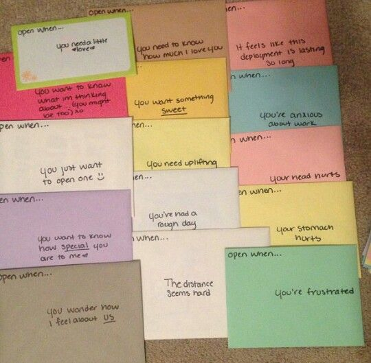 A letter to write to your boyfriend