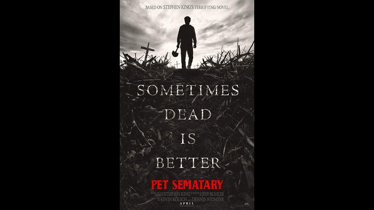 Pet Sematary..... 2019 Pet sematary, Pets