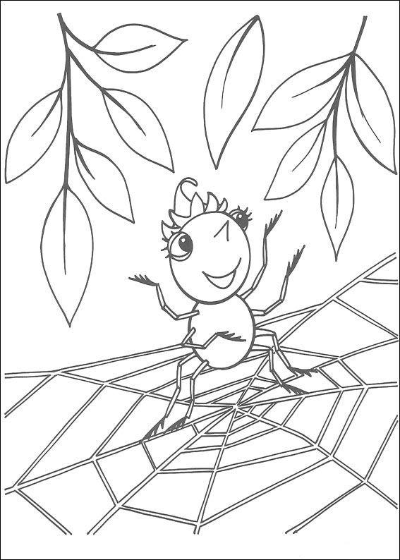 Coloriage Dessins Miss Spider 13 Dibujos Dibujos Para Colorear Y Paginas Para Colorear