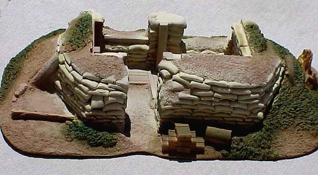 Sand Bag Bunker