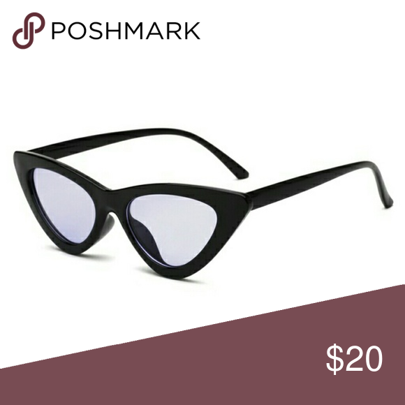 87d933b99607 Spotted while shopping on Poshmark  Black Cateye Sunglasses w  Lilac Lens  NWT!  poshmark  fashion  shopping  style  Accessories