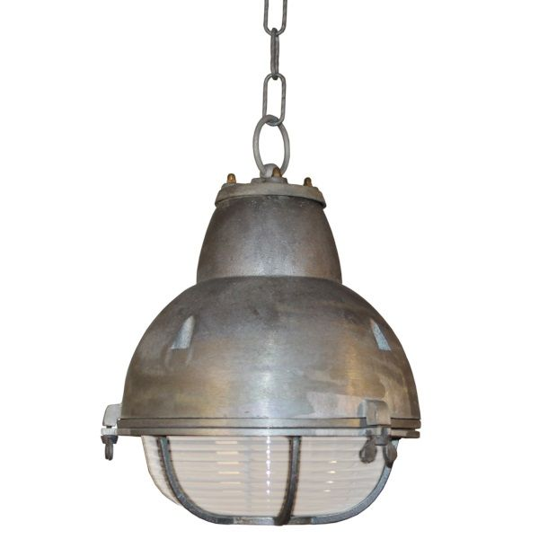 K.S. Verlichting Navigator Hanglamp Ø 25 cm - Aluminium kleur | Ware ...