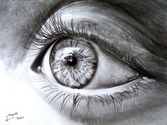 Os impressionantes retratos hiper realistas desenhados a lápis de diego fazio
