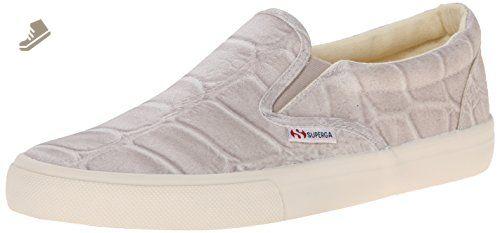 Womens Shoes Superga 2311 Fabricsilkcoccow Stone