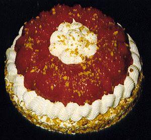 Sarah Bernhardt Cake New Orleans