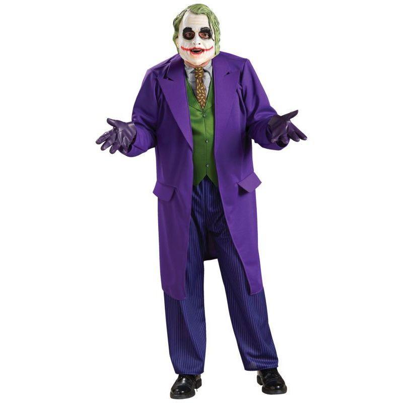 Joker Costume Adult Batman Arkham Halloween Fancy Dress