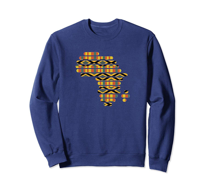 Africa Map Kente Pattern Classic Ghana West African Print Sweatshirt In 2021 Printed Sweatshirts African Print Sweatshirts [ 1402 x 1500 Pixel ]