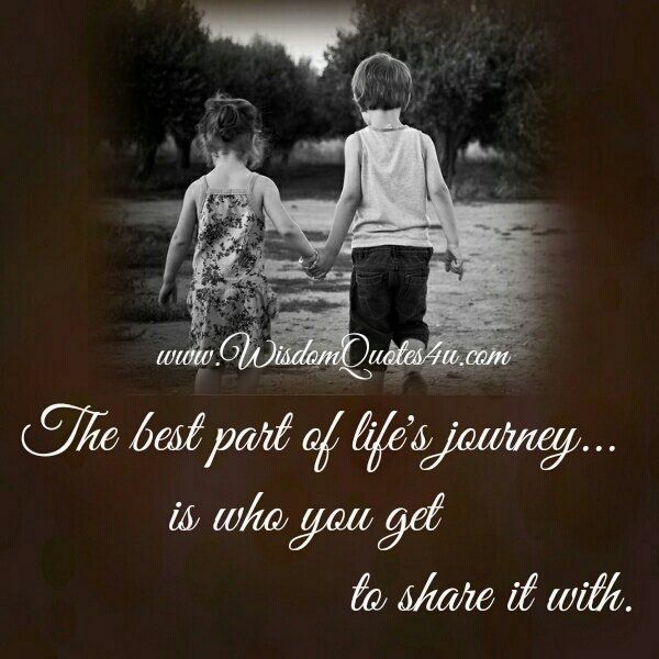 Best Inspirational Quotes About Life Journey Together Quotes Love