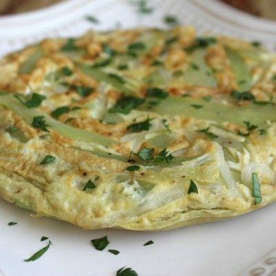 Receta Tortilla Española Fit Con Chayota Food Healthy Eating Healthy Snacks