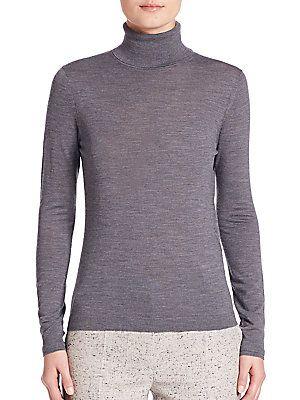 4104b5e6e BOSS Fabuna Virgin Wool Turtleneck Sweater | Products | Sweaters ...