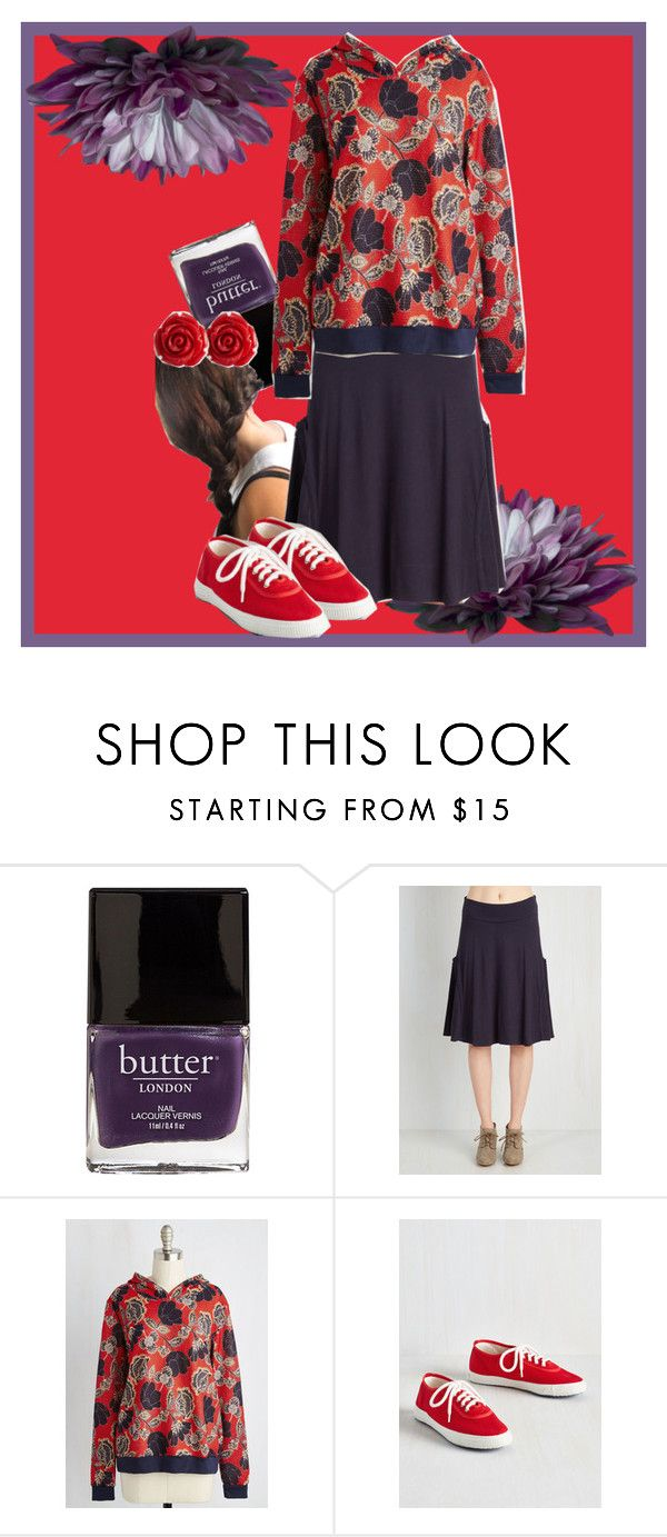 """Violet"" by gabi-girl ❤ liked on Polyvore featuring Butter London and Startas"