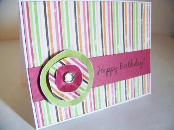 Birthday Card For Her Homemade Hand By Whisperingwildflower 350