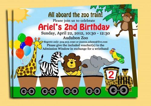 Zoo train invitation printable safari animal invite birthday boys zoo train invitation stopboris Gallery