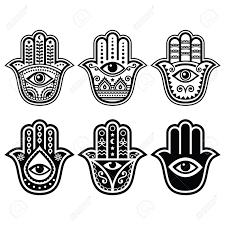 R sultat de recherche d 39 images pour silhouettes main de - Main de fatma dessin ...
