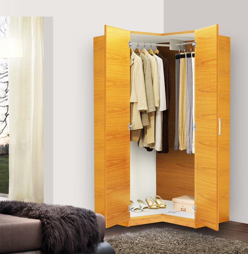 Enchanting Free Standing Closet With Doors For Your Room Amusing