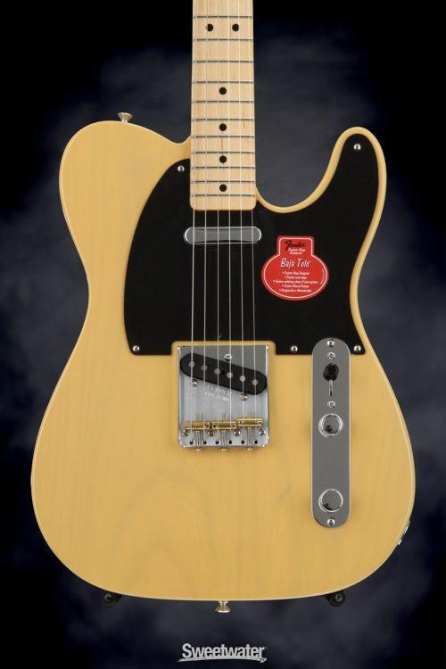 Fender Classic Player Baja Telecaster Blonde W Maple Fingerboard Telecaster Telecaster Guitar Fender Telecaster