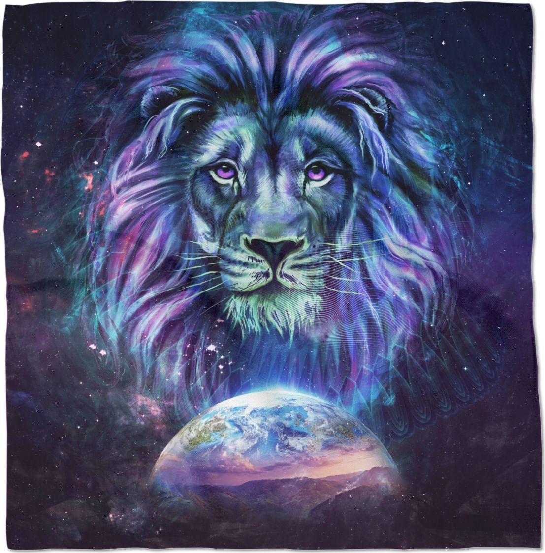 19 Guardian Bandana Made With Rageon Lion Painting Lion Art Lion Pictures