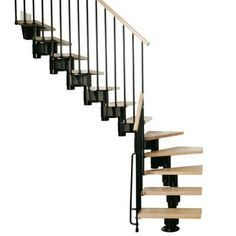 Best Arke Kompact 35 In Black Modular Staircase L Kit K35023 400 x 300