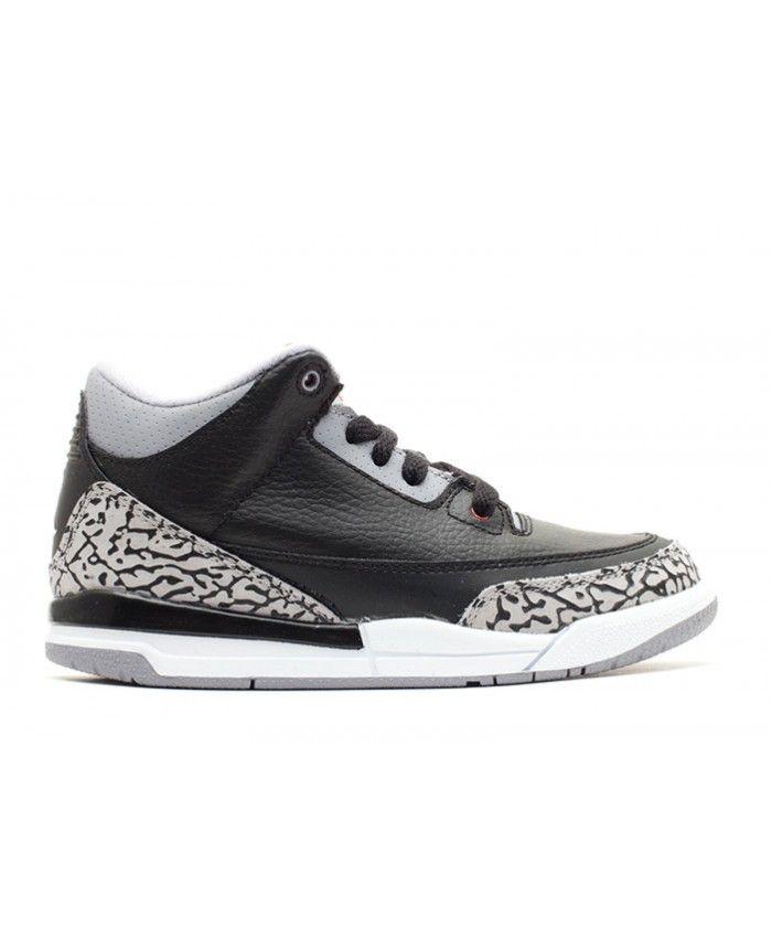 7f28fa344ef Air Jordan 3 Retro (Ps) 2011 Release Black Varsity Red Cement Grey 429487  010