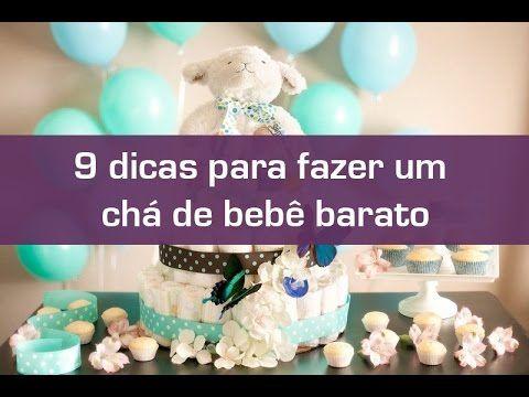 09bec0f6b9 9 dicas para fazer um chá de bebê barato - YouTube