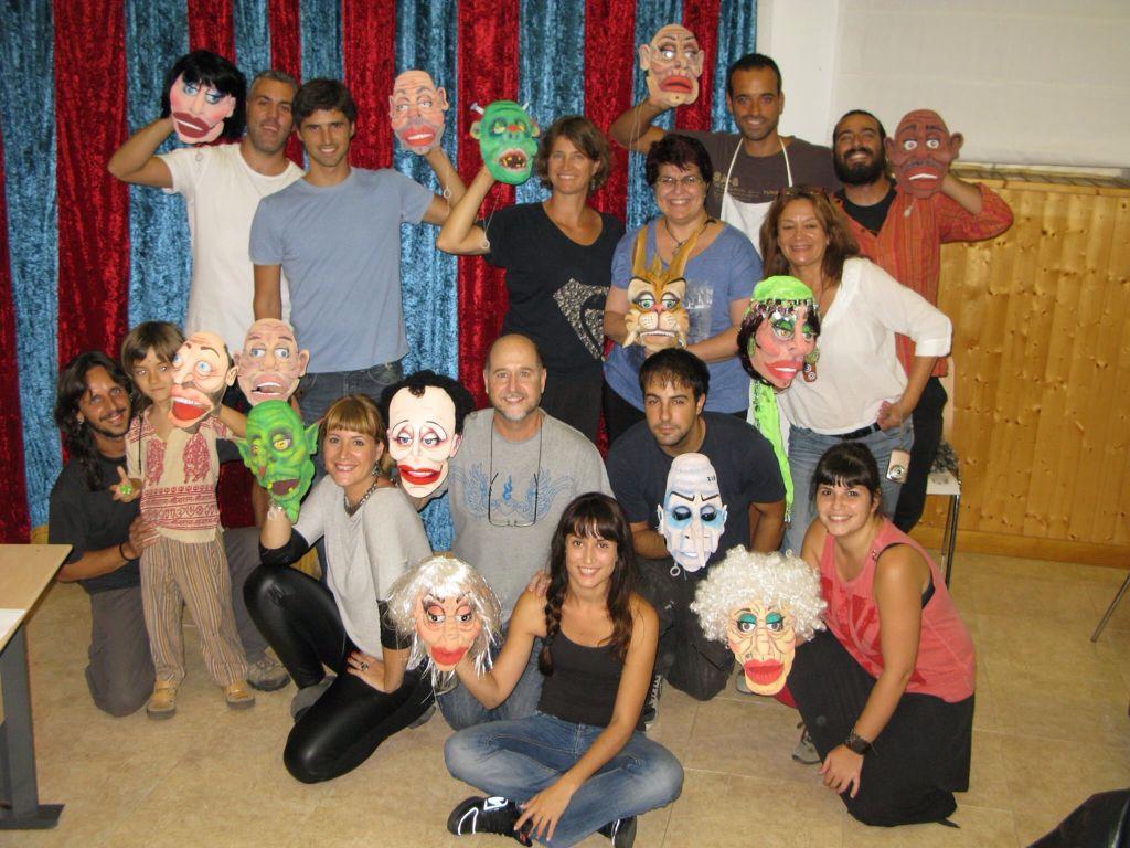 Curso marionetas