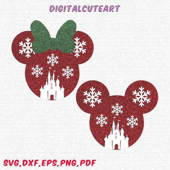 Christmas Minnie Mouse Svg.Christmas Svg Christmas Minnie Svg Christmas Mickey Svg