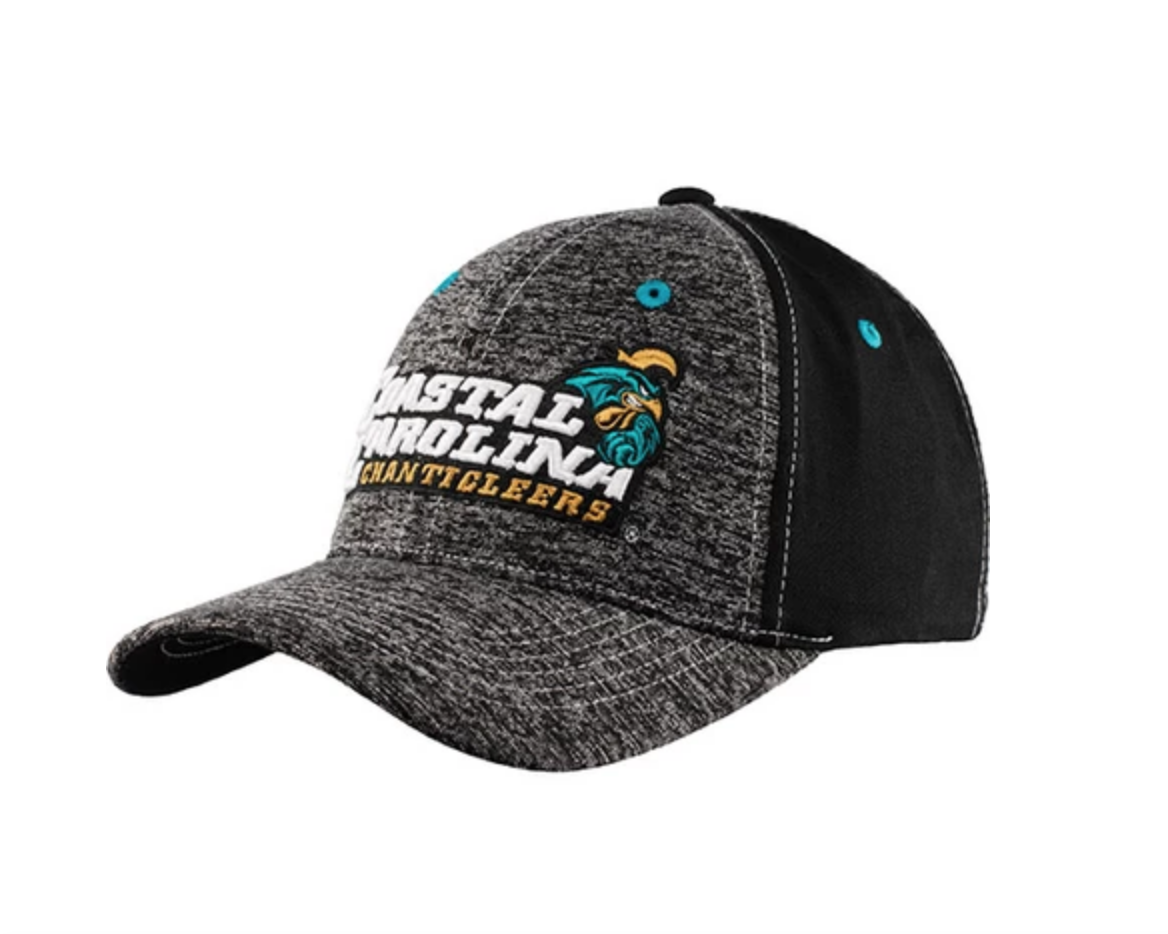 Coastal Carolina Chanticleers Heather Performance Flex Fit Hat Flex Fit Hats Hats Coastal Carolina