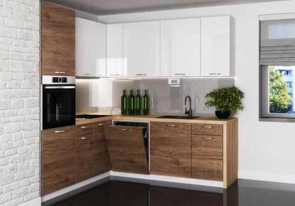 Narozny Zestaw Mebli Kuchennych Rock 200x220cm 12 Elementow Kitchen Cabinets Home Decor Home