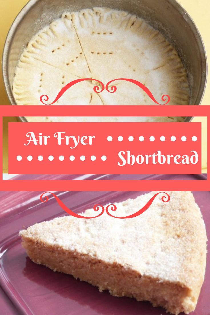 Air Fryer Shortbread Air fryer recipes, Savoury dishes