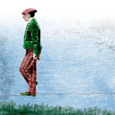 Päivi Hintsanen: Tight-Rope Walker In The Wind, 2011