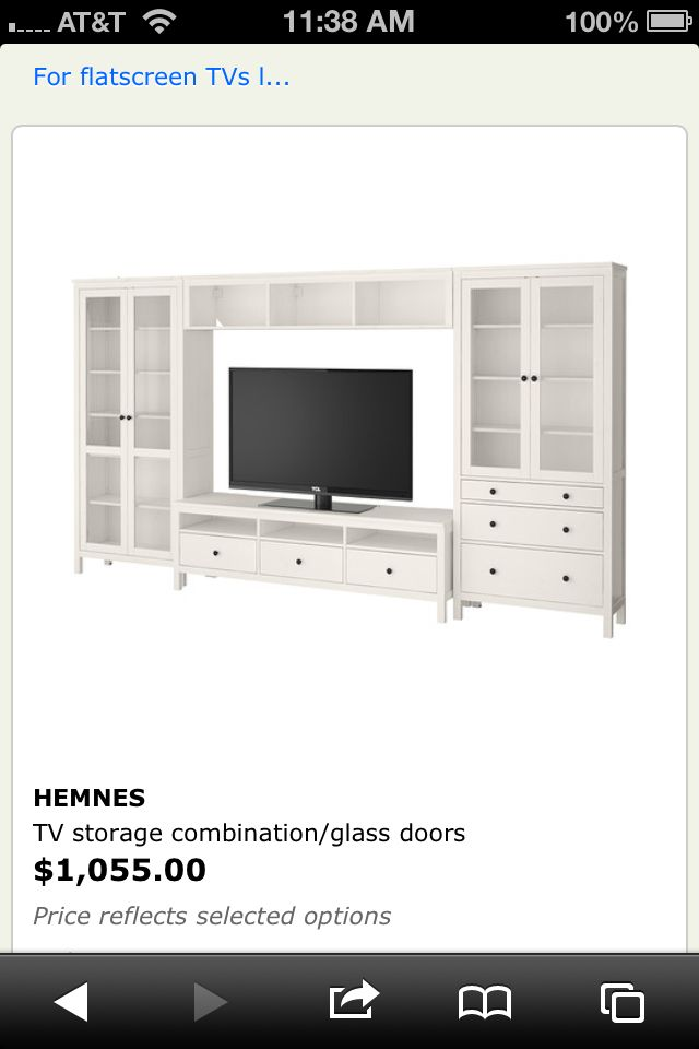 Ikea Entertainment Center for living room   For the home ...