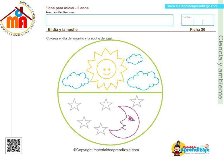 el dia y la noche | Ciencias preescolar | Pinterest | Ciencia ...