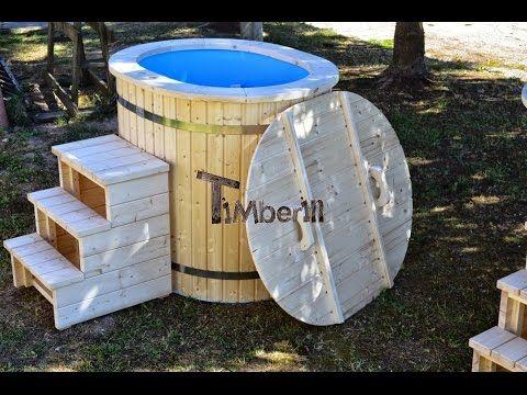 Ofuro Hot Tub Timberin Badefass Whirlpool Badebottich