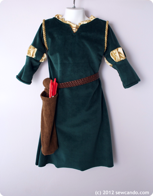 Sew Can Do: Inspired By Brave: Princess Merida Costume Tutorial ...
