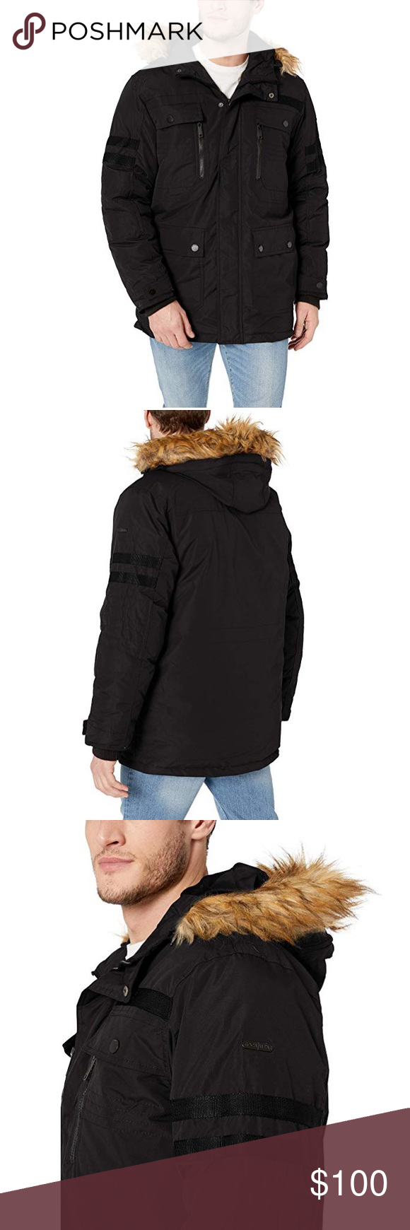 Rocawear Men S Heavyweight Long Parka Jacket Xl Long Parka Jacket Parka Jacket Long Parka [ 1740 x 580 Pixel ]