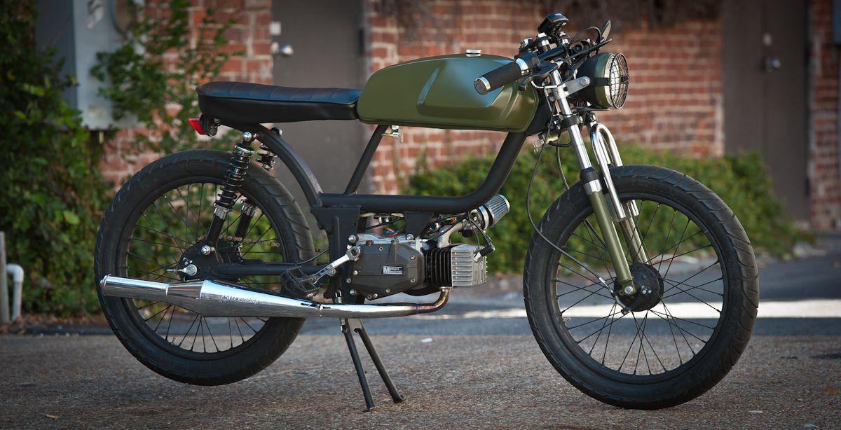 garage build general brat cafe racer and moped. Black Bedroom Furniture Sets. Home Design Ideas