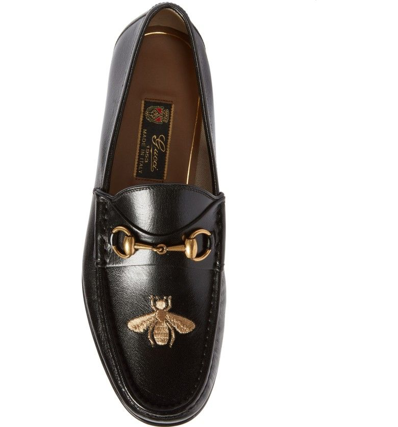 e1c65b57014 Main Image - Gucci Roos - Bee Loafer (Men)
