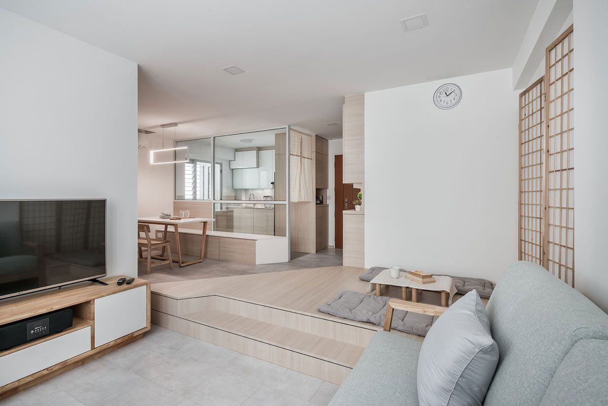 10 Calming And Soothing Homes In Singapore You Will Feel Completely Relaxed In Muji Home Japanese Home Decor Japanese Interior Design