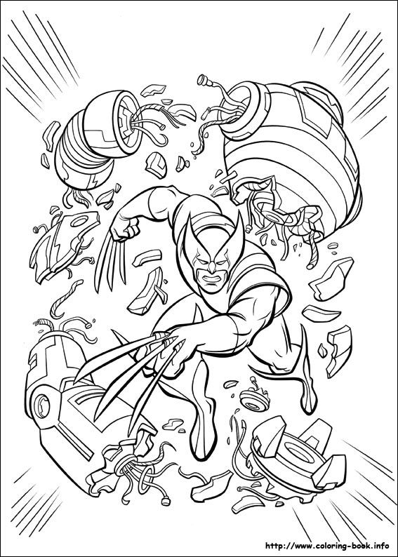 Xmen Coloring Picture Drawing People Pages For Kids Rhpinterest: Free Coloring Pages X Men At Baymontmadison.com
