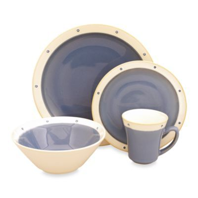 Sango Newport Blue 16-Piece Dinnerware Set  sc 1 st  Pinterest & Sango Newport Blue 16-Piece Dinnerware Set | Dinnerware Newport and ...
