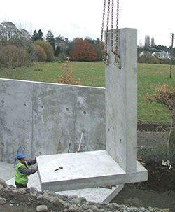 Precast Concrete Flood Defence Walls Panels Jp Concrete Concrete Retaining Walls Retaining Wall Concrete Wall