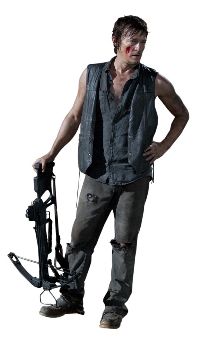 Daryl Render The Walking Dead By Twdmeuvicio The Walking Dead Walking Dead Daryl Daryl Dixon Crossbow