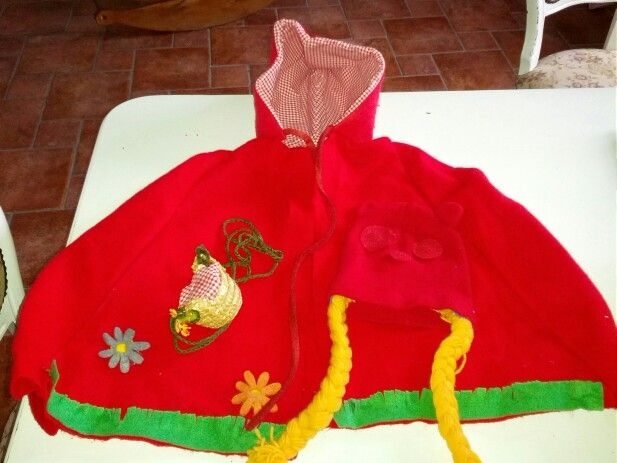 My little red riding hood front