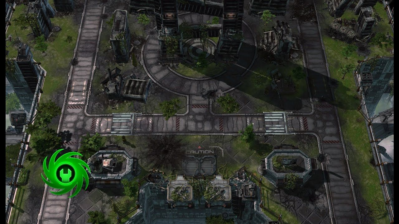 Speed mapping in Starcraft 2 editor Ghost Tower #games
