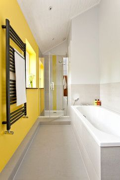 Creative small yellow bathroom decorating ideas check more at https also best home images decor showers rh pinterest