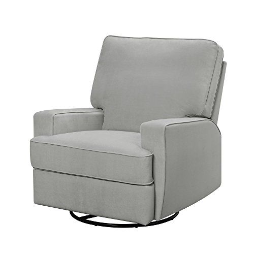 Baby Relax Rylan Swivel Gliding Recliner Gray ** Click image for ...