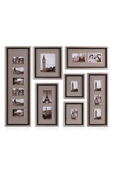 Uttermost 'Massena' Photo Frame Collage Collection (Set of 7)